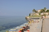 <p>Diamante plaża miasto znane z murali</p>