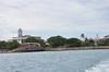 <p>Stone Town widok z łodzi</p>