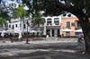 <p>Plac widok z domu syna Krzysztofa Kolumba</p>