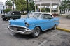 <p>Samochód amerykański w Cienfuegos</p>